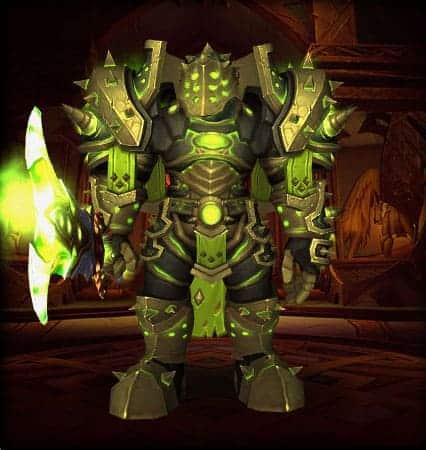 10 Best Warrior Transmog sets 7
