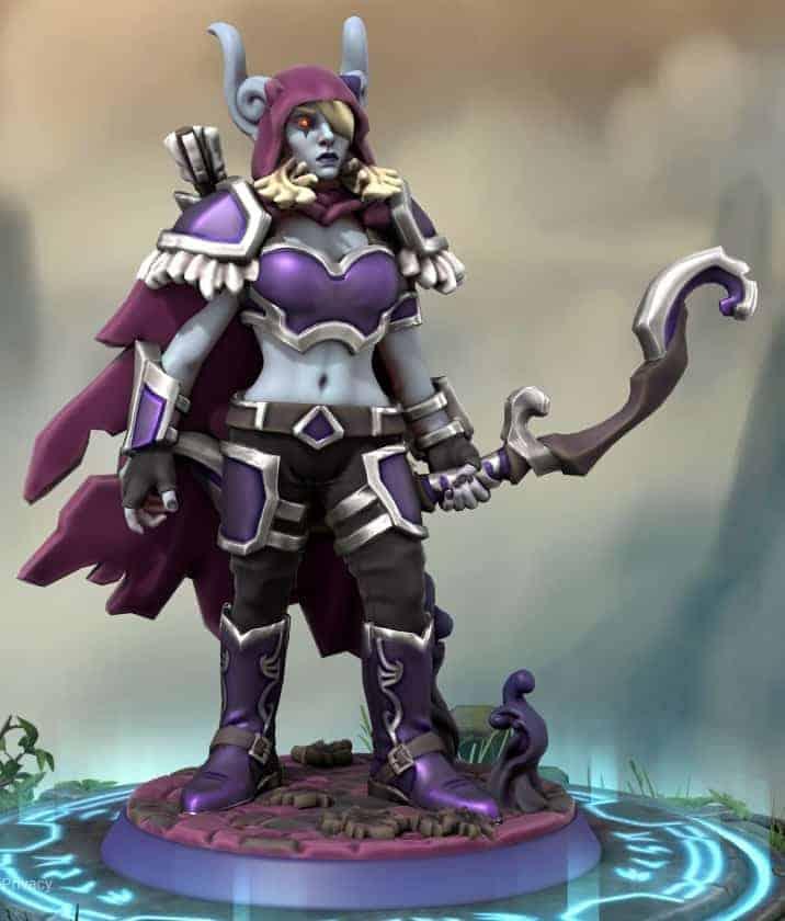 Fanmade World of Warcraft Miniature Figures 1