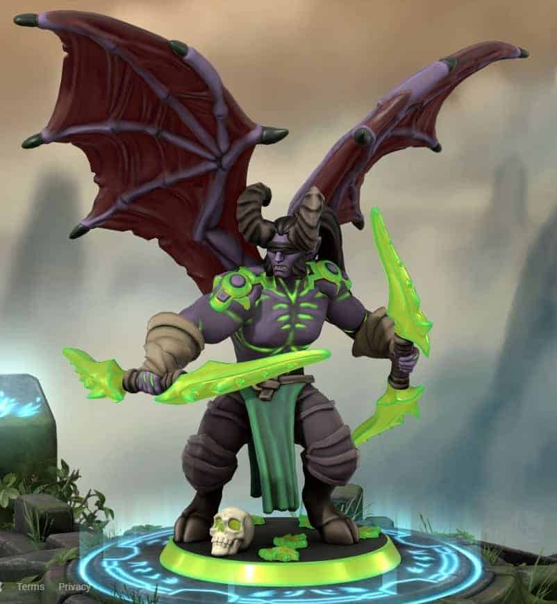Fanmade World of Warcraft Miniature Figures 17