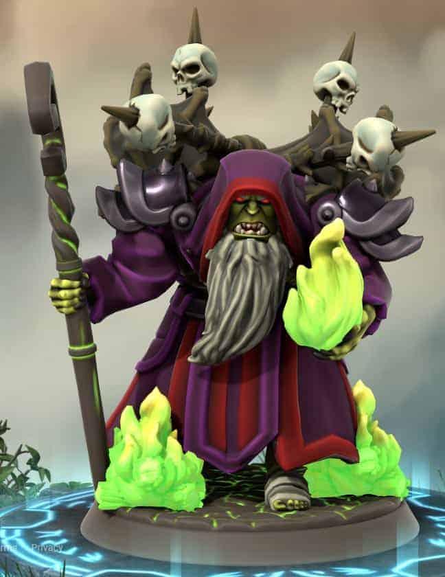 Fanmade World of Warcraft Miniature Figures 9
