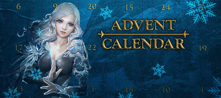 Archeage Advent Calendar 2020 1