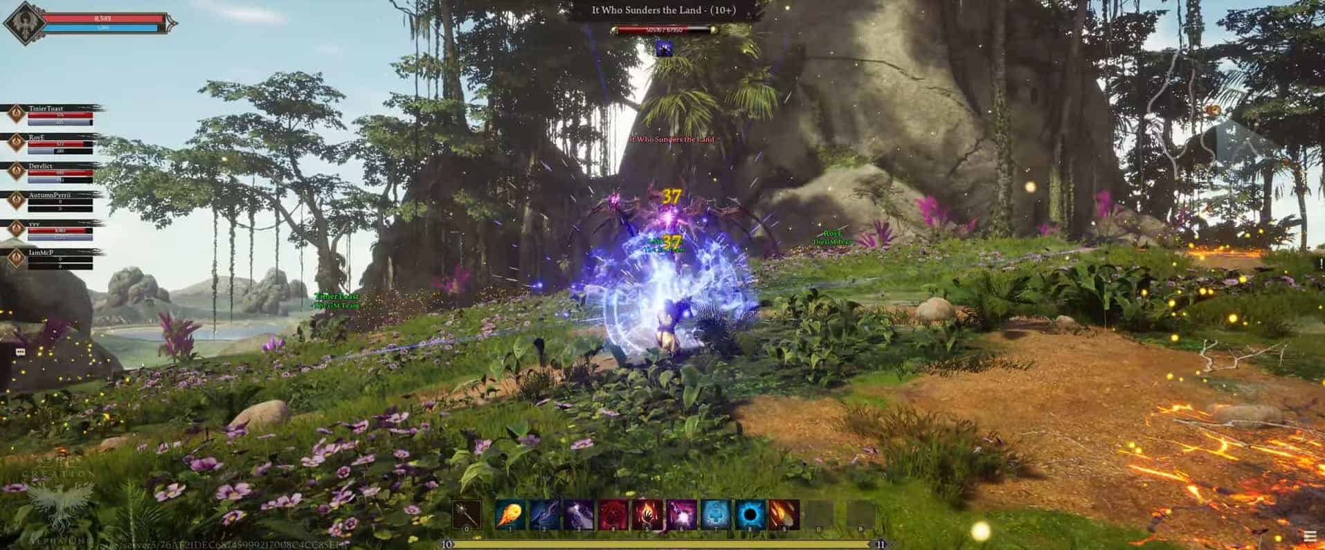Ashes of Creation Shares 4K Video From Alpha One