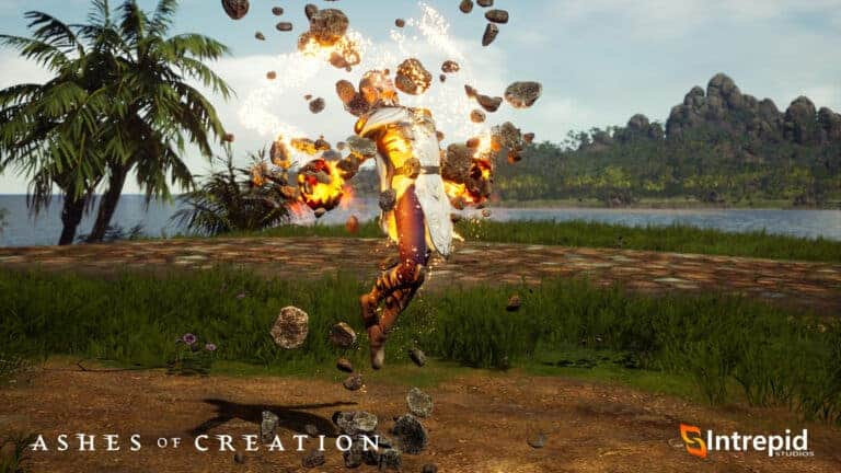 Ashes Of Creation SHows Off Mage In Alpha One Preview 1