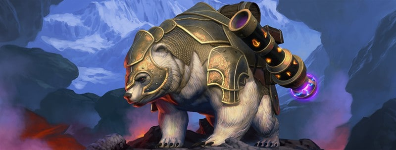 Neverwinter: New Lockbox And New Polar Siege Bear Mythic Mount