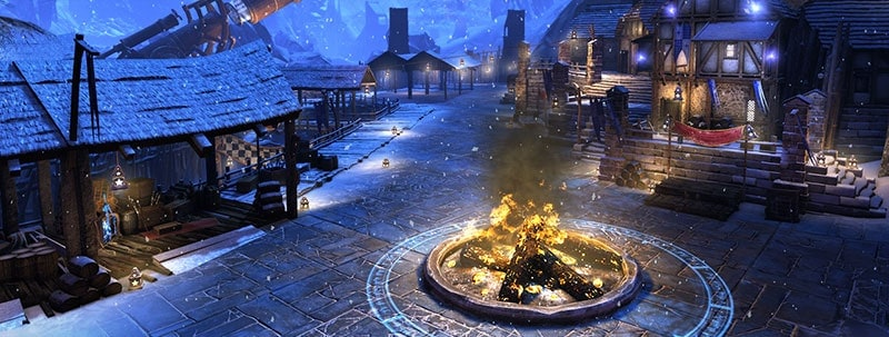 The SImril Winter Festival Kicks Off In Neverwinter On The 17th
