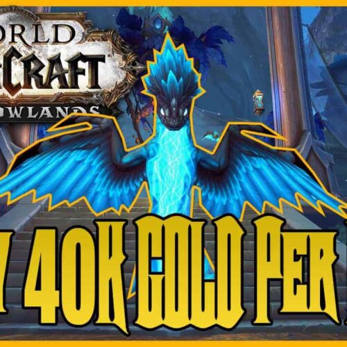 Shadowlands Gold Farm 40K Gold Per Hour With Skinning