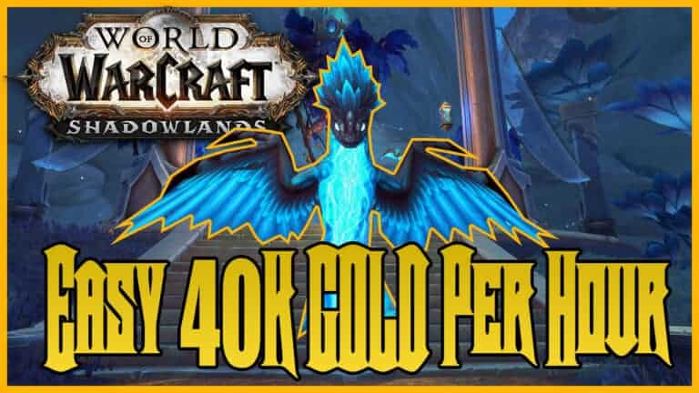 Shadowlands Gold Farm 40K Gold Per Hour With Skinning 1
