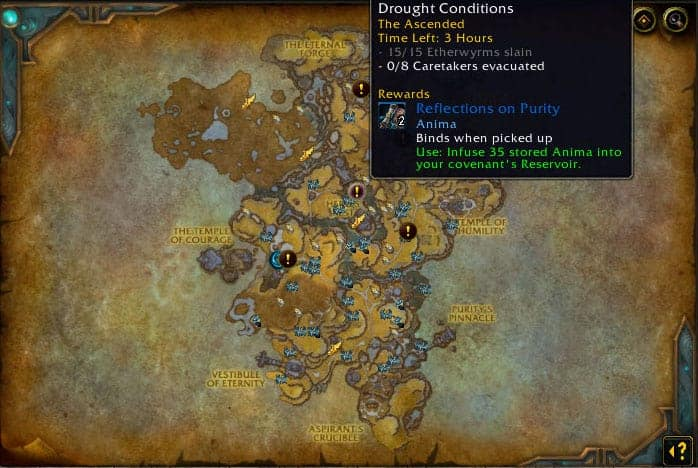 Shadowlands Gold Farm 40K Gold Per Hour With Skinning 2