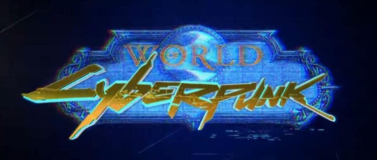 World of Cyberpunk Machinima Mixes WoW With Cyberpunk 2077 1