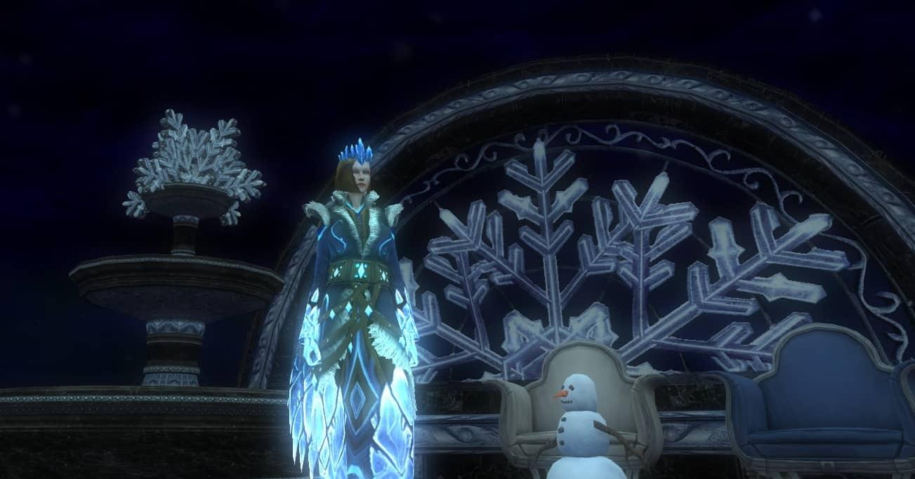 Dungeons & Dragons Online - The Snowpeaks Festival Has Begun 3