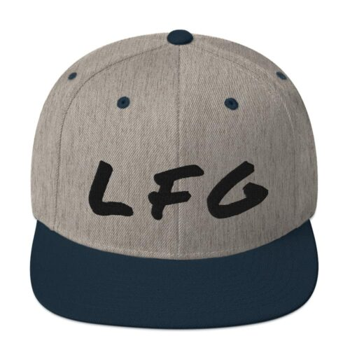 LFG Snapback Hat 11