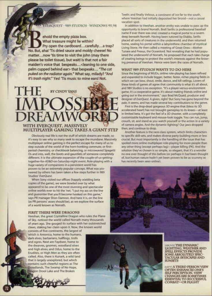 Everquest Nostalgia Overload 16
