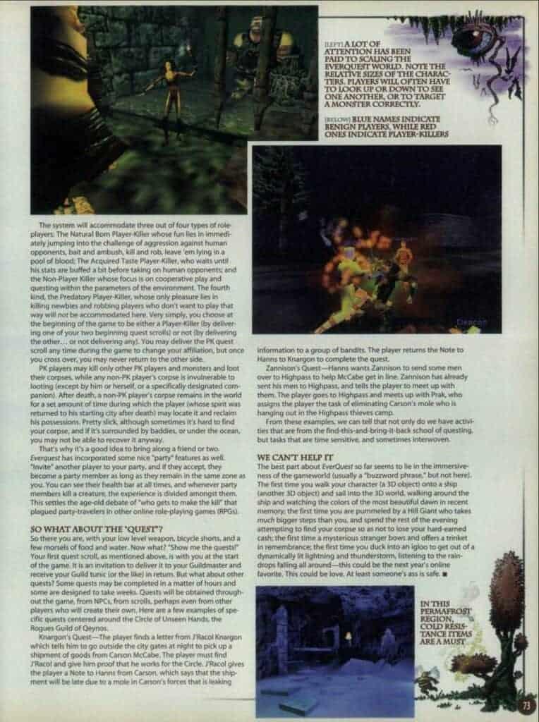 Everquest Nostalgia Overload 10