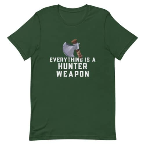 Everything Is A Hunter Weapon 3