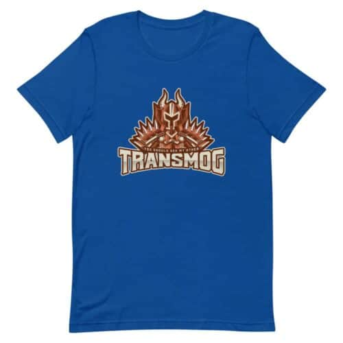 You Should See My Other Transmog T-shirt 4