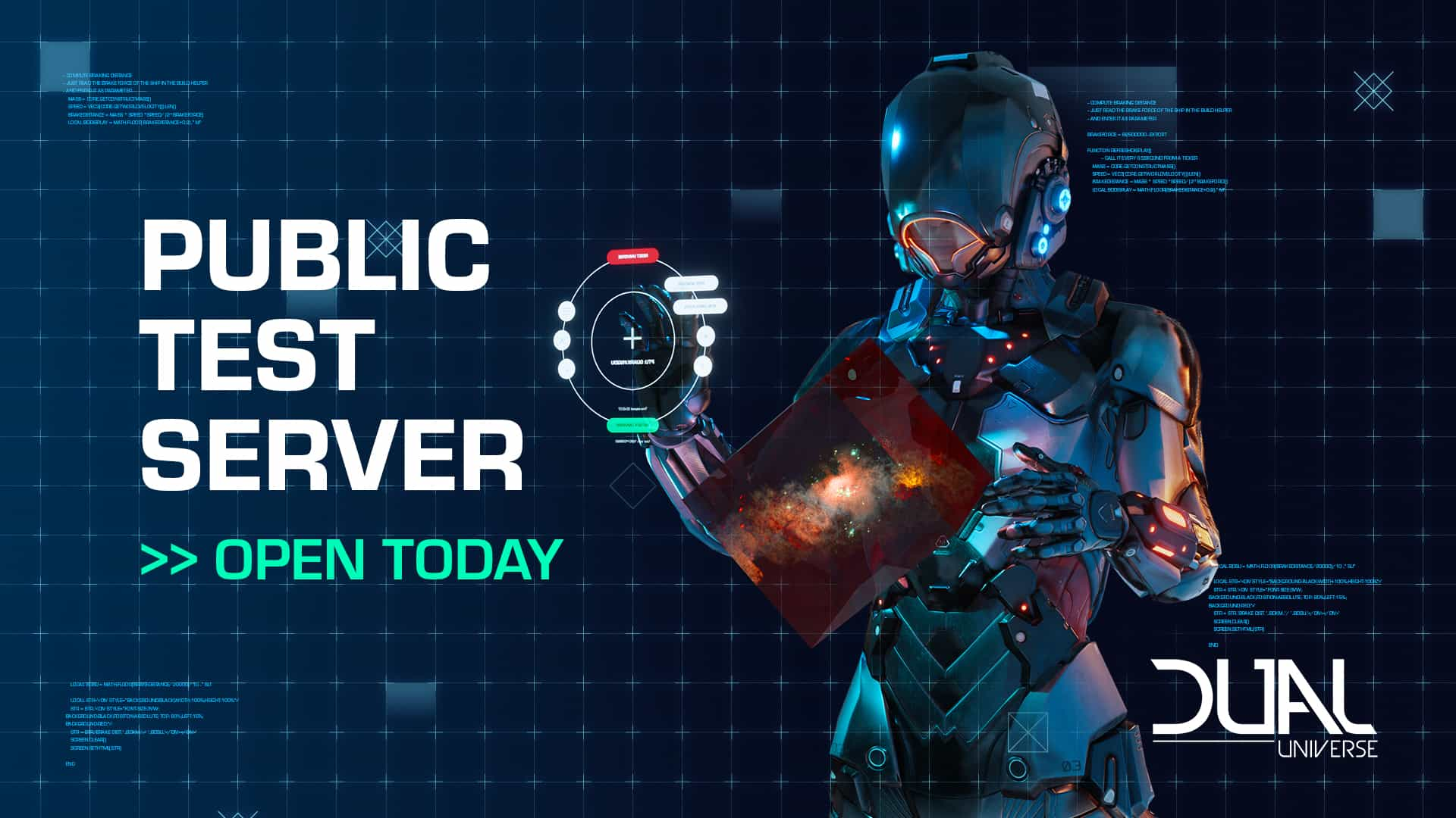 Dual Universe Public Test Server Are Open 1