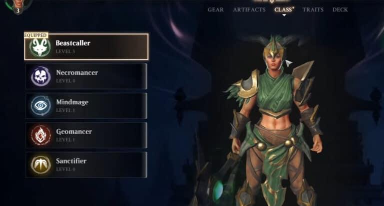 Magic: Legends Livestream Gives Details On Beastcaller & Mind Mage Loadouts 1