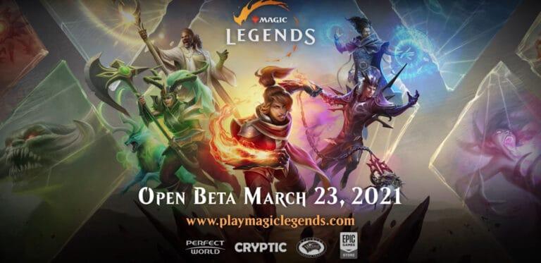 Magic: Legends BEta Will BEgin March 23rd 1