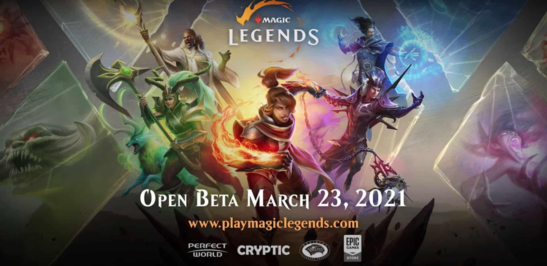 Magic: Legends BEta Will BEgin March 23rd 6