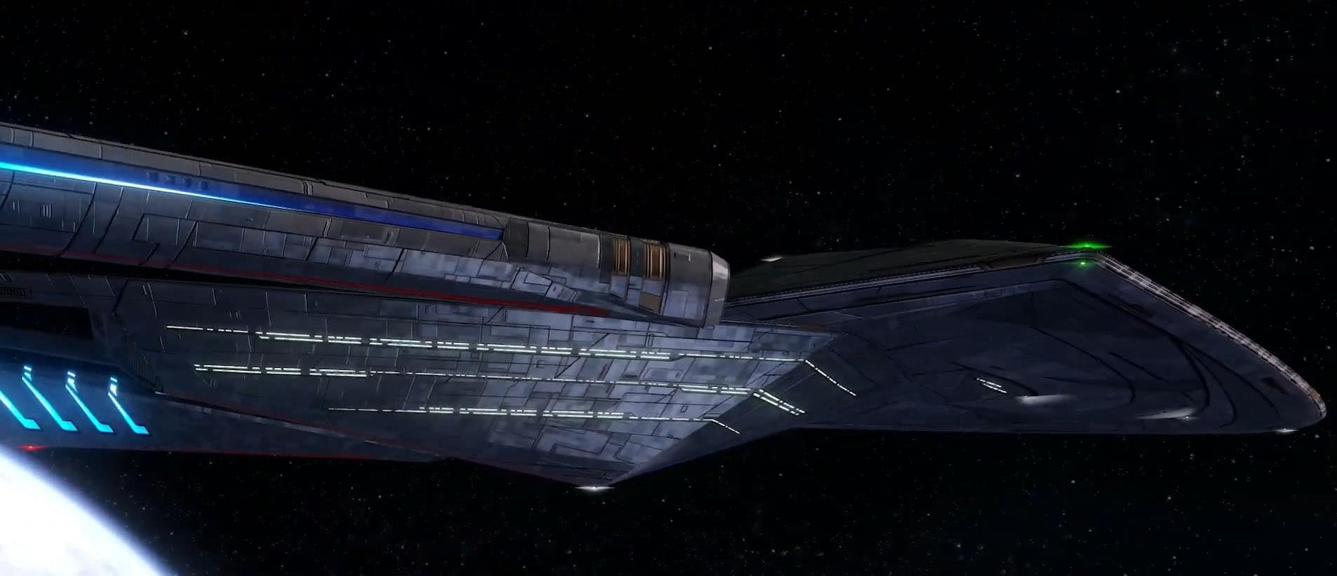STO Introduce First 32nd Century Ship, The Janeway Class Command Science Vessel 3