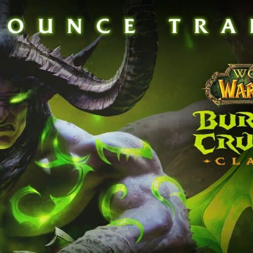 The Burning Crusade Announced - 2021 Release