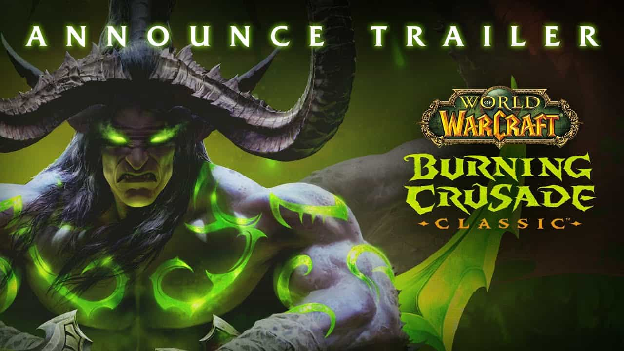 The Burning Crusade Announced - 2021 Release 12
