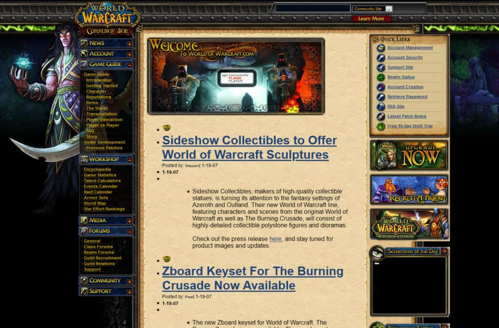 The Burning Crusade Nostalgia Overload 1