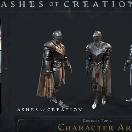 Ashes of Creation Development Update Talks Hiring, Website Design, Gameplay, And Art