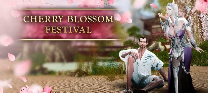 Celebrate The Cherry Blossom Festival In Archeage