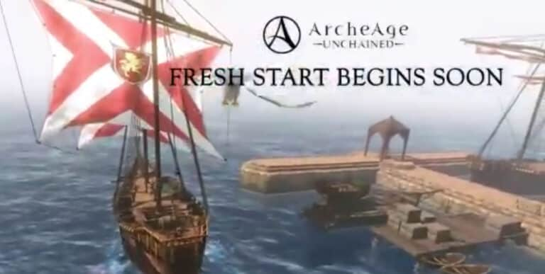 Fresh Start Server Coming To Archeage Unchained March 25th 1