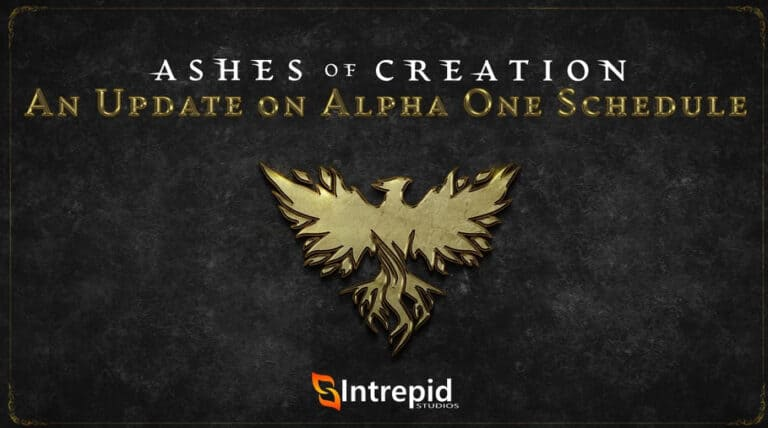 Ashes of Creation Alpha One Delayed Until June 1st 1