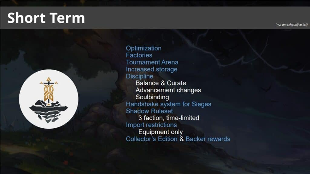 Crowfall Lays Out Their Short, Mid, And Long Term Road Map 2