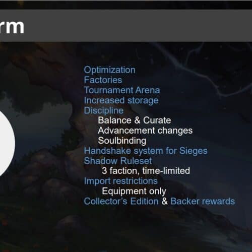 Crowfall Lays Out Their Short, Mid, And Long Term Road Map