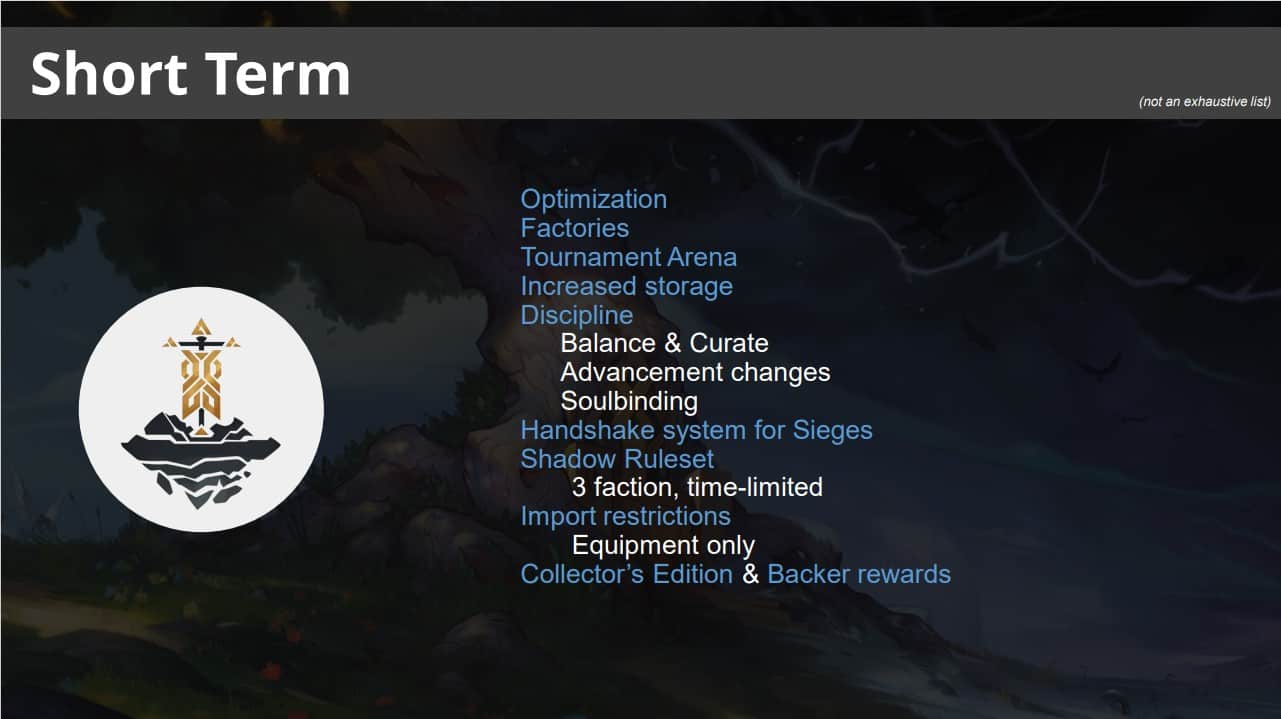 Crowfall Lays Out Their Short, Mid, And Long Term Road Map 1