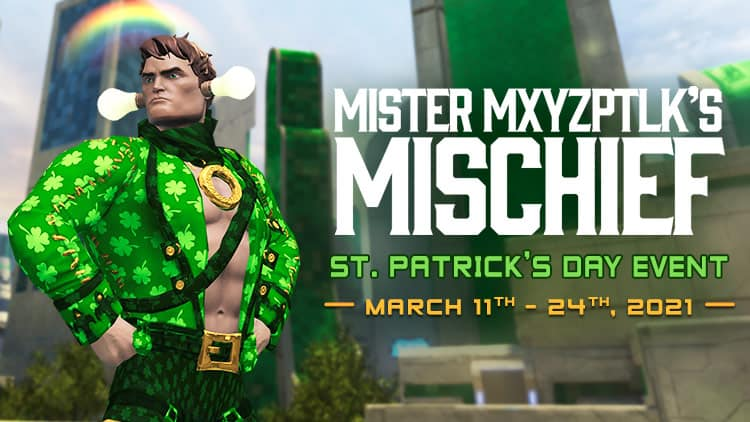 DCUO Game Update 111 And ST. Patrick's Day Event Is Live
