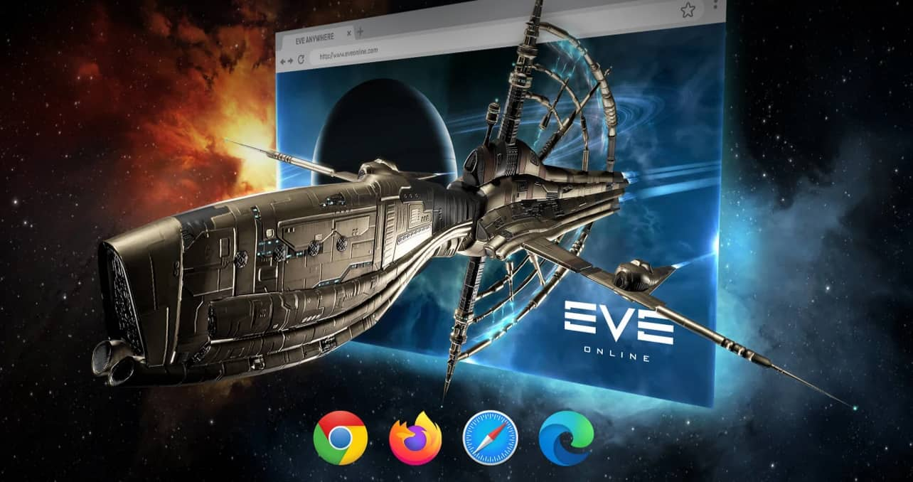 Browser Client Eve Anywhere Enters Beta 4