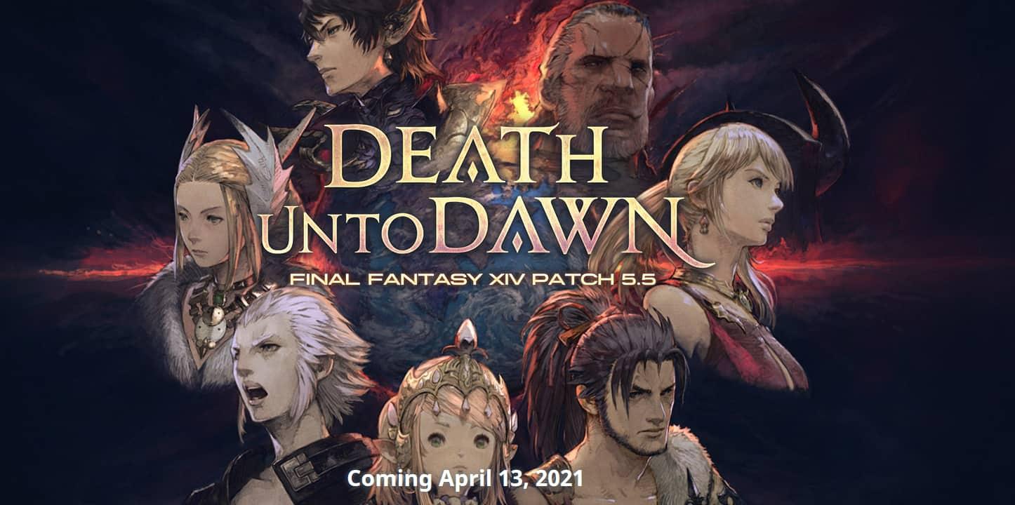 FFXIV Patch 5.5 Death Unto Dawn & PLayStation 5 Beta Is Live 1