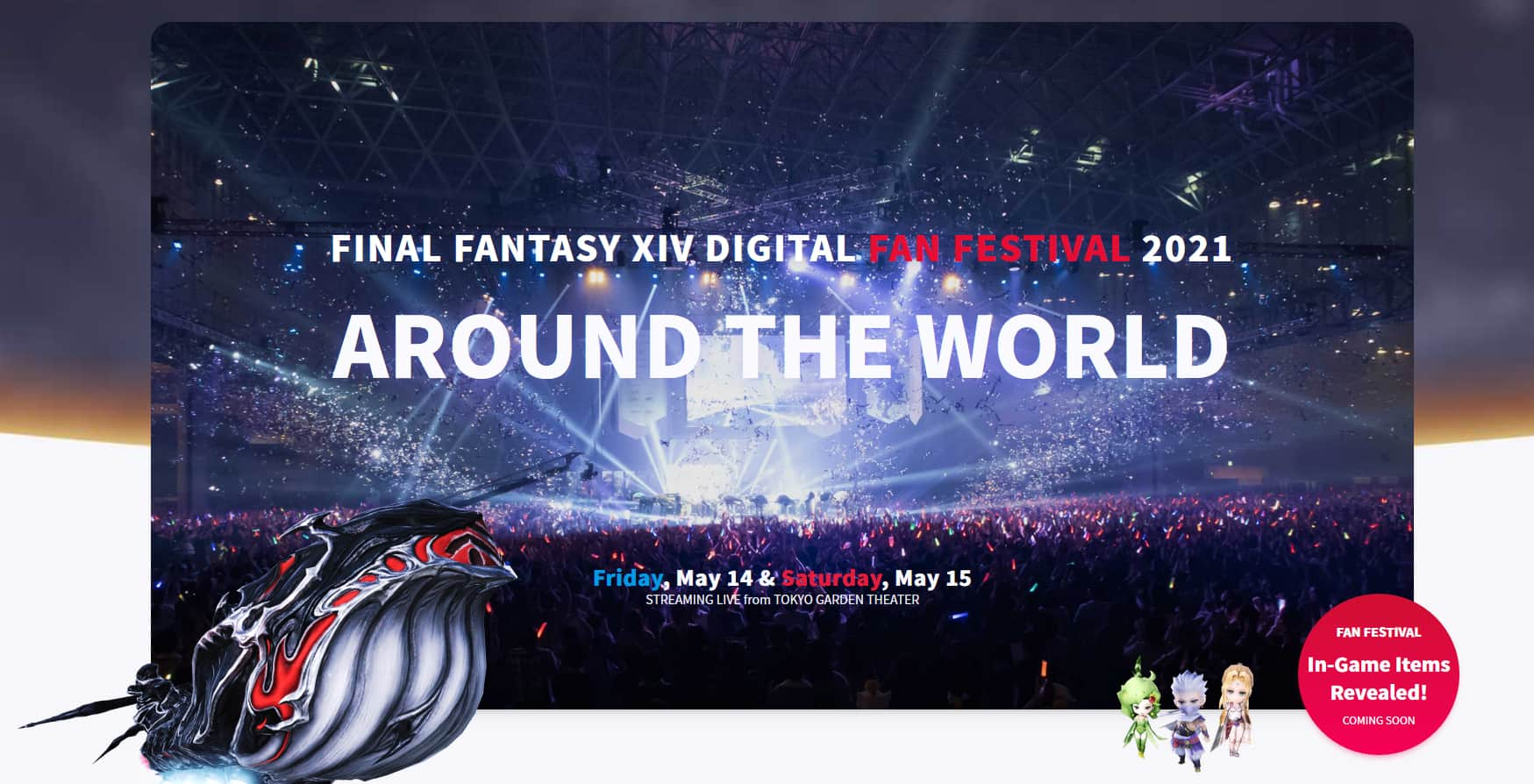 Final Fantasy XIV Digital Fanfest Kicks Off May 14th 7