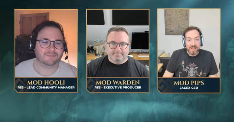 Jagex CEO Talks About Login Issues In Live Steam 1