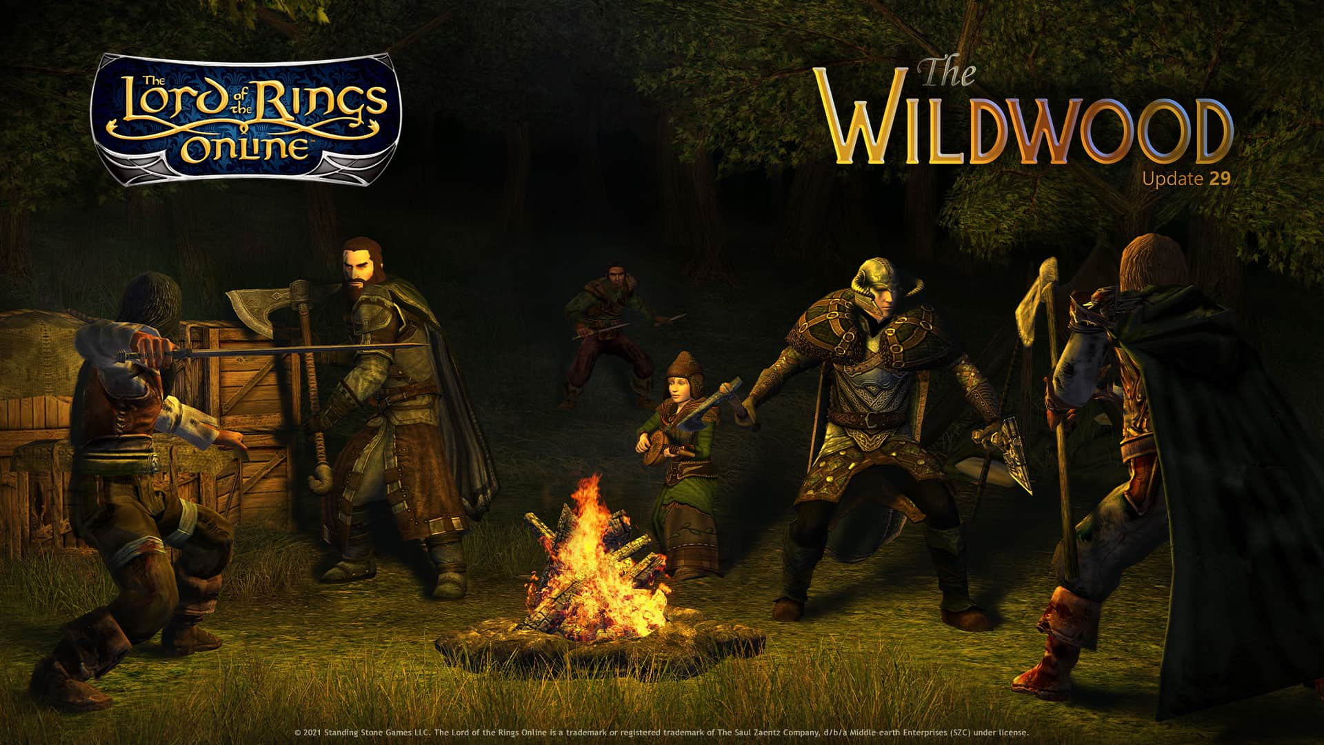 LOTRO Update 29 The Wildwood Is Live 2