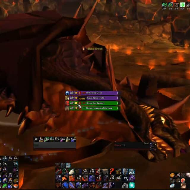 Classic Onyxia Killed By Two Players
