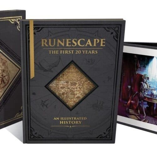 Runescape: The First 20 Years Artbook Will be Out October 5th