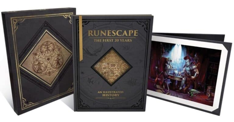 Runescape: The First 20 Years Artbook Will be Out October 5th 1