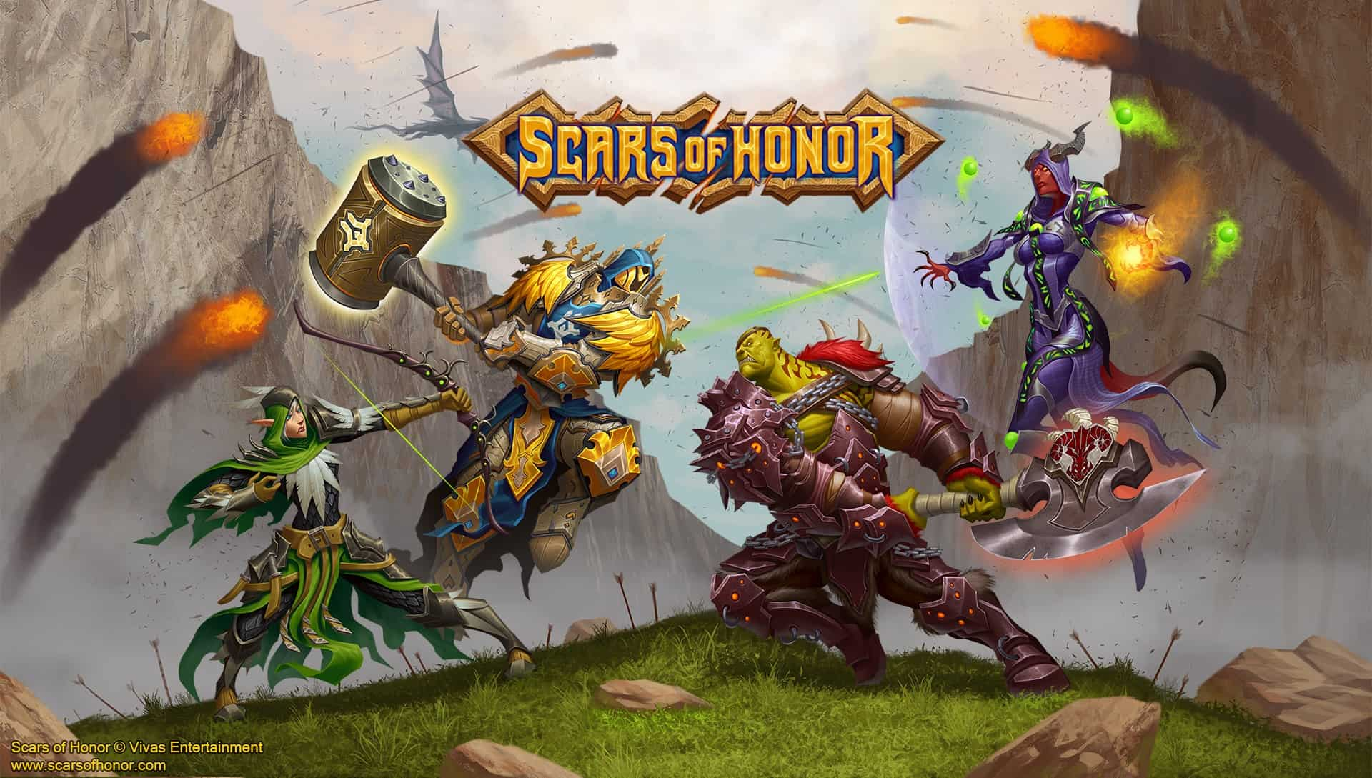 """Indie MMORPG """"Scars of Honor"""" Seeks To Return To The Roots Of The Genre"""