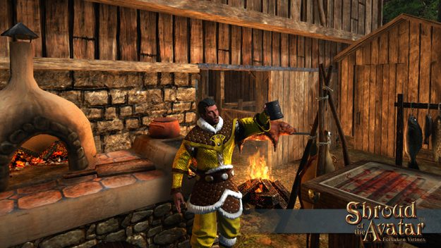 Shroud of the Avatar Updates Crafting And Food And Drink Systems