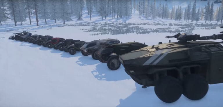 Inside Star Citizen Looks At Ground Vehicles 1