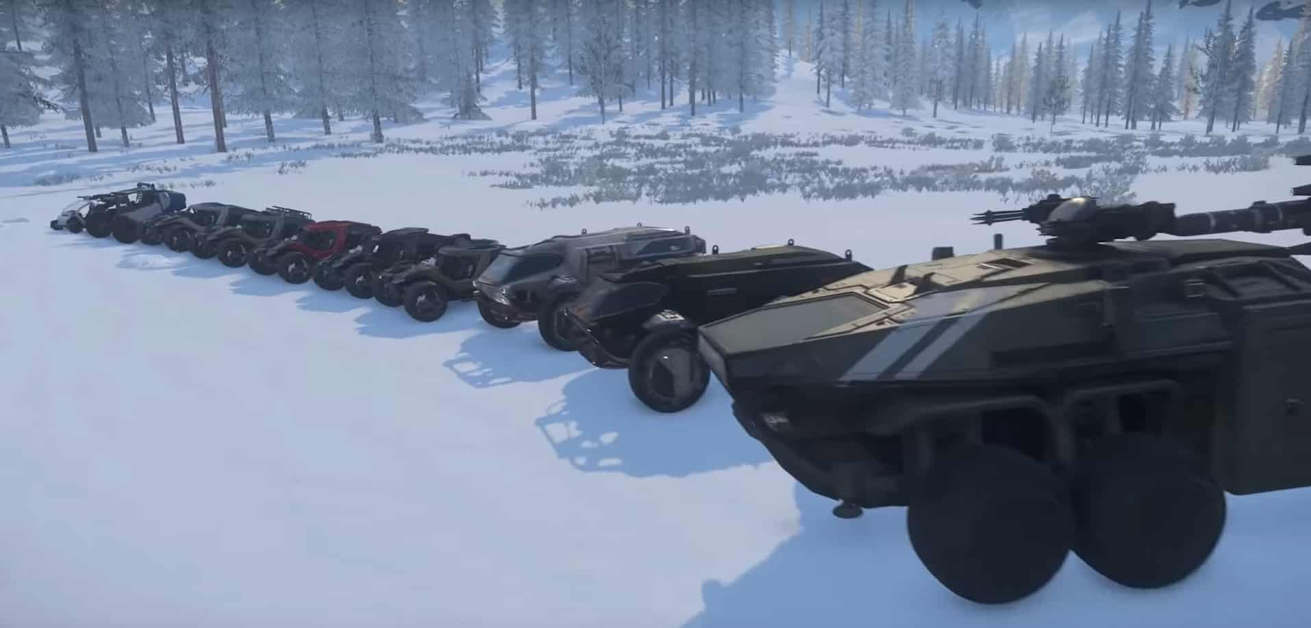 Inside Star Citizen Looks At Ground Vehicles