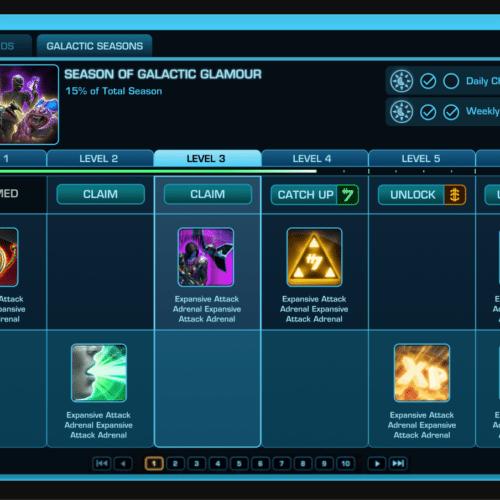 SWTOR Introduce Galactic Seasons