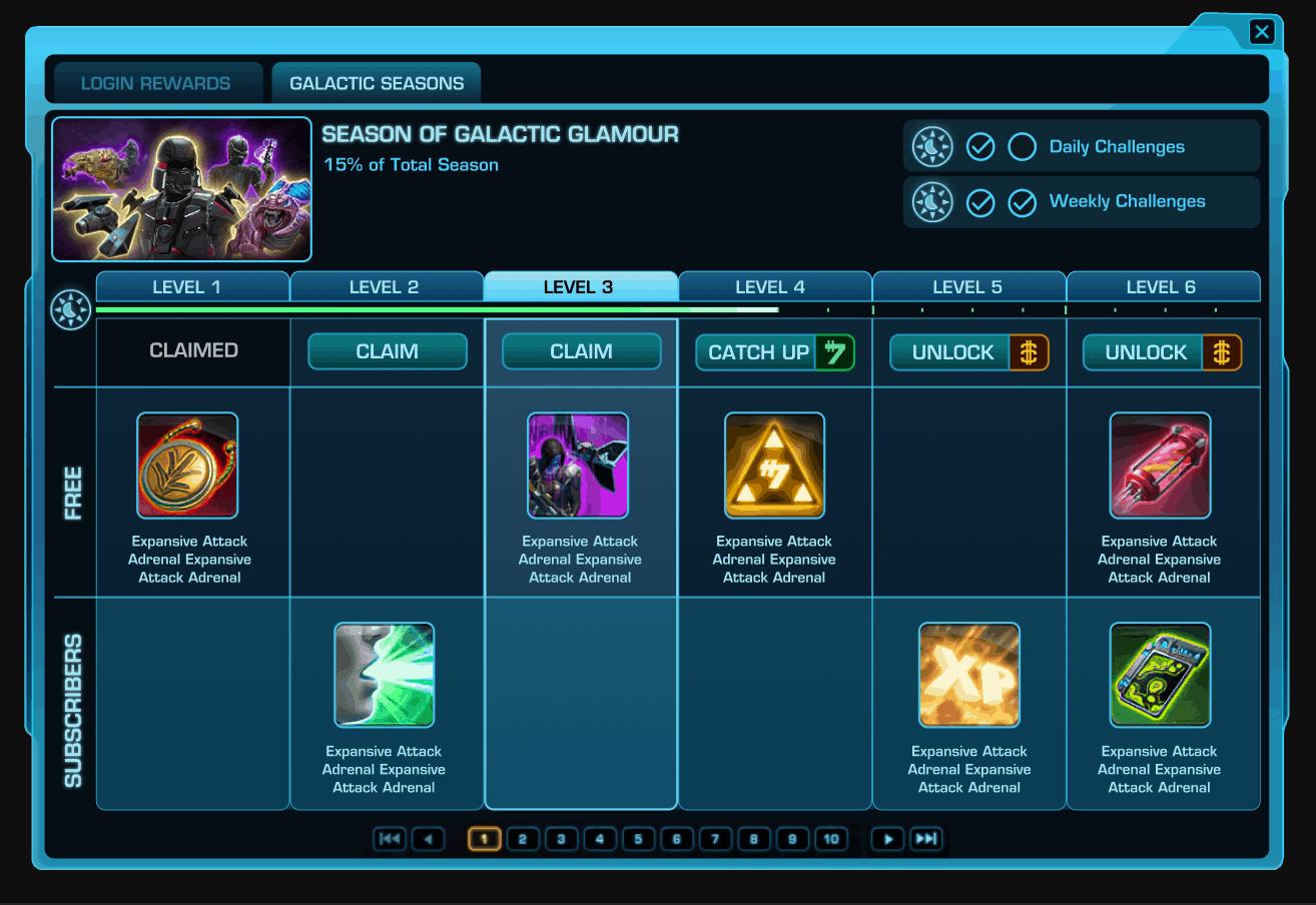 SWTOR Introduce Galactic Seasons 4