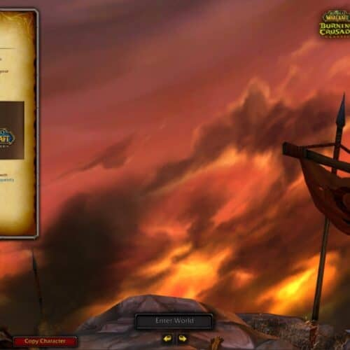 New Burning Crusade PTR Assets Suggest You Can Pay Fee To Have Your Character On Both Classic And TBC Realms